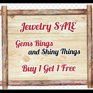 All Jewelry This weekend Fri - Sun BOGOF